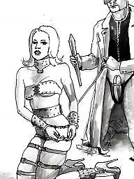 Cartoon bdsm, Femdom cartoon, Bdsm drawings, Drawings, Black femdom, Femdom