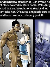 Interracial cartoons, Cartoons, Cartoon, Interracial cartoon, Wife, Black