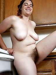 Mature hairy, Hairy mature, Kitchen