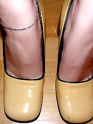 Amateur nylon, Nylon feet, Nylon, Heels, Nylons, Leggings