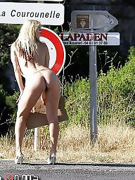 Roads, Public road, Public amateur flash, Public naked, Naked public, Naked nudity