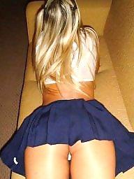 Skirt, Mature upskirt