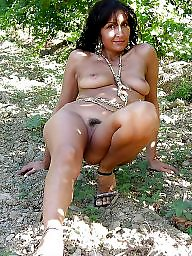 Mature posing, Outdoor, Mature outdoors, Posing, Mature outdoor, Hairy