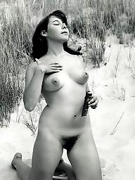 Nudist, Retro, Vintage hairy, Hairy vintage