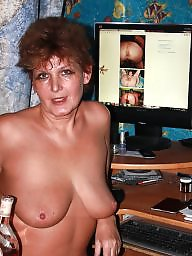 Russian mature, Mature slut