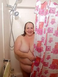 Bbw shower, Shy