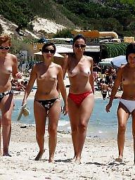 Beach, Fucking, Beach fuck, Beach tits
