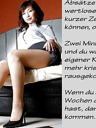 German caption, Bdsm captions, German, German captions, Teen captions, Femdom caption