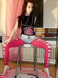 Teens leggings, Short shorts, Leggings, Teen leggings, Pink, Teen shorts