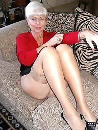 Sexy mature, Mature stockings, Stocking milf