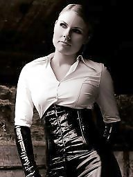 Amateur boots, Corsets, Latex, Amateur latex, Gloves, Corset