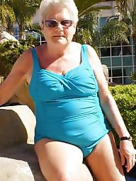 Grannies, Amateur granny, Granny, Swimsuit