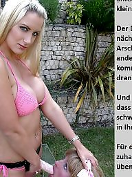 Femdom caption, German caption, Femdom captions, German captions