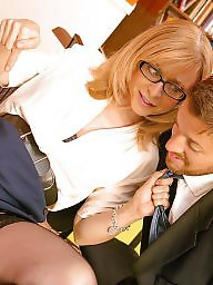 Nina hartley, Office, Milf fuck, Sexy milf, Nina, Fuck