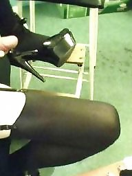 X heels, Stockings heels, Stockings & heels, Stocking heels, My stockings, My heels