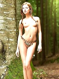 Chained, Chain, Chains, Young amateur, Belly, Old young