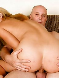Young slut, Old young, Old cock, Blonde pussy, Young pussy, Young