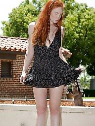 Redhead, Upskirt