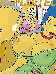 Milf cartoon, Comics, Comic, Simpsons