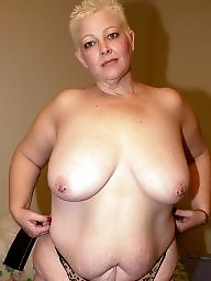 Saggy, Mature tits