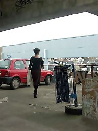 French, Milf flashing, Milf public, Public milf, Parking, French milf