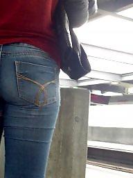 Jeans, Tight ass, Jeans ass, Hidden cam, Tight jeans, Teen jeans