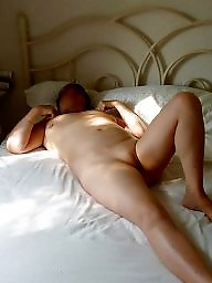 Bed, Mature bed, Mature nude
