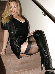 Stockings, Sexy milf, Mature sexy