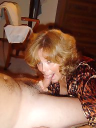 Mature blowjob, Mature facial