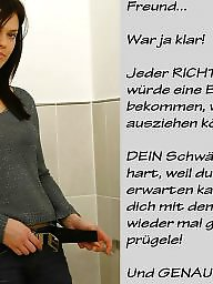 German caption, German captions, Femdom captions, Femdom caption, Teen caption, German