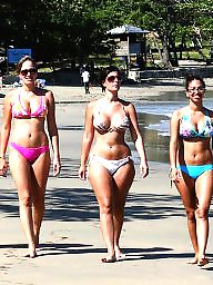 Beach boobs, Bikini beach, Bikini boobs, Bikini, Beach, Beach group