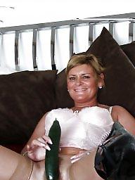 Mature stockings, Mature stocking, Blond mature, Sexy mature