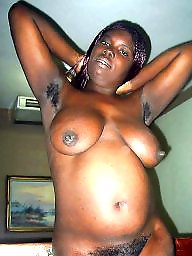 cunt Nude thick hairy african