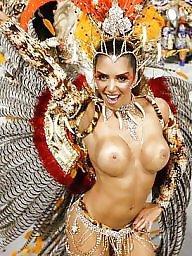 Public tits, Carnival, Whore