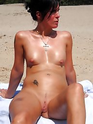 Beach mature, Amateur mature, Beach, See
