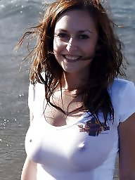 Women with perky nipples