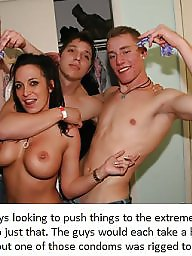 Captions, Cream, Impregnation, Caption