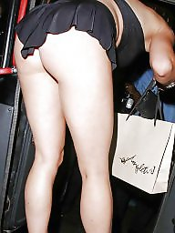 Upskirt ass, Celebrity upskirt, Thong ass, Thong, See through, Mariah carey
