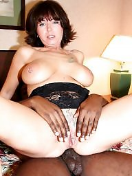 Mature interracial, Mature face