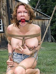 Tied tits, Tied up, Tied, Femdom