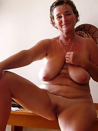 Hairy mature, Mature hairy, Shaving, Shaved