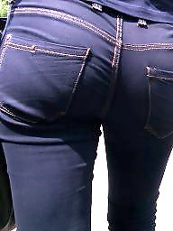 Candid ass, Candid teen, Jeans, Teen candid, Candid voyeur, Candid