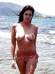 Public nudity, Tit flash, Public, Flash, Flashing