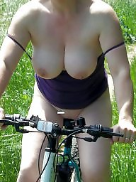 Bike, Public nudity, Public