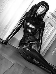 Leather, Latex, Lace, Corsets, Latex femdom