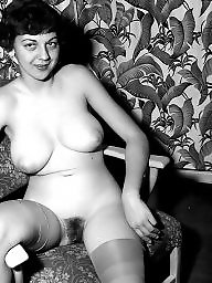 Hairy vintage, Hairy retro, Vintage, Retro, Vintage tits, Hairy tits