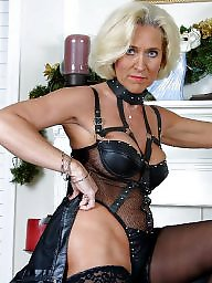 milf Mature leather