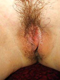 Hairy chubby, Wet pussy, Asshole, Wet panties