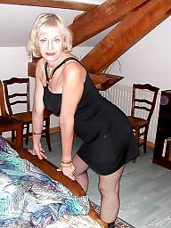 Mature ladies, Mature stockings, Stocking milf