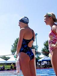Voyeur teen ass, Voyeur swimming, Teen swim, Teen nice ass, Teen blonde ass, Teen at pool